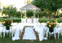 Outdoor Weddings order at Las Vegas on English