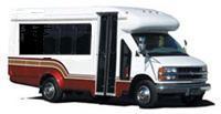 Order 15 passenger bus w/luggage
