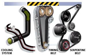 Order Belts & Hoses Change