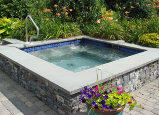 Order Custom Gunite Spas