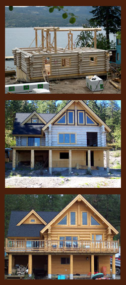 Order Building A Log Home