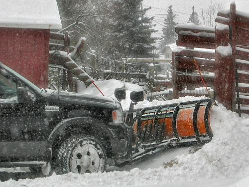 Order Snow Plowing and Snow Removal