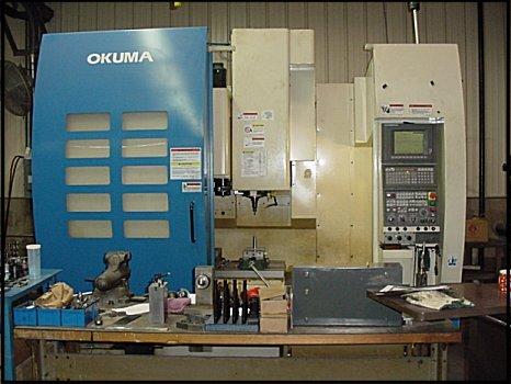 Order OKUMA 4018 Machining Center Services