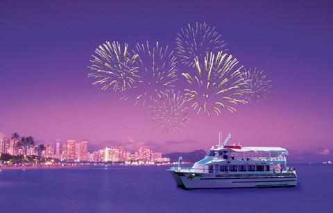 Order Aloha Friday Dinner & Fireworks Cruise