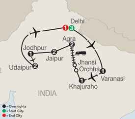Order Secrets of India Tour