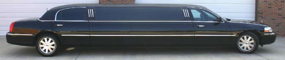 Order Lincoln Stretched Limousine - 10 pax Rental