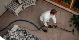 Order Pre-vacuum carpet