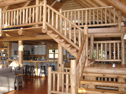 Rustic Staircases
