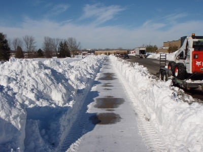 Order Snow Plowing/Salting Service