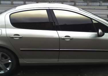 Auto tinting for window