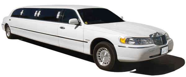 Lincoln Towncar Streetch Limousine White Color Order In San Antonio