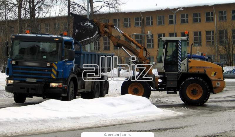 Order Snow removal