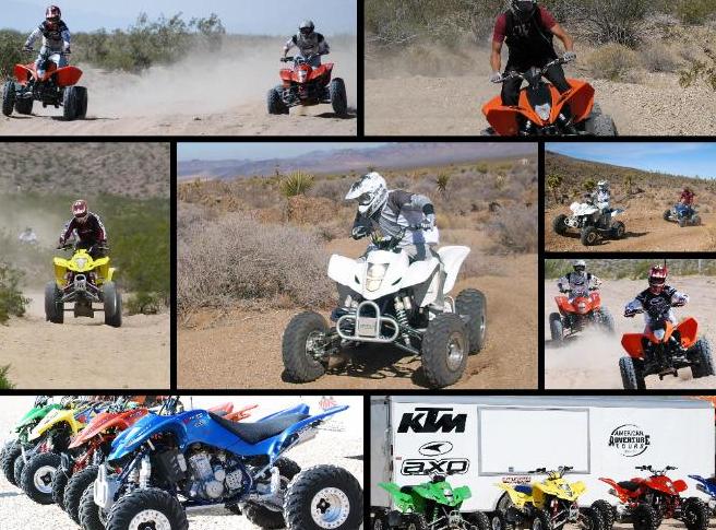 Order ATV Extreme Hidden Valley Primm Tour
