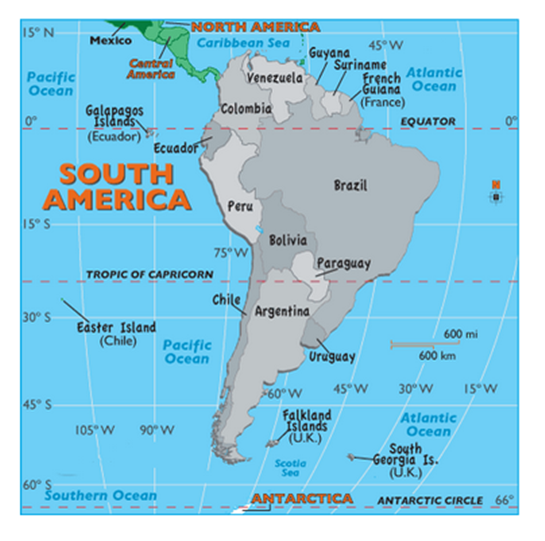 Order South America Tours