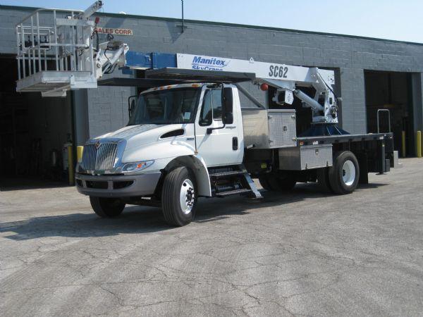 Order 2008 Manitex SC62 Boom Truck Rental