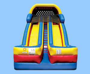 Various Indoor & Outdoor Inflatable Slides