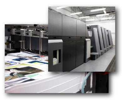 Order Color offset printing services