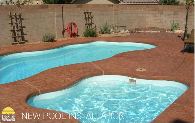 Order Fiberglass Pools Installation