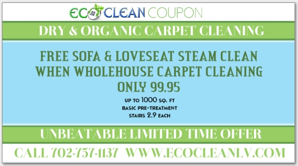Order Carpet Cleaning Las Vegas | Eco Clean