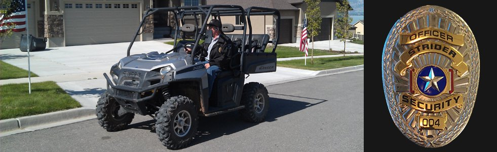 Bicycle, PTV, & Golf Cart Patrols