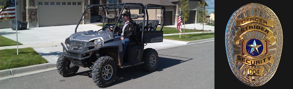 Order Bicycle, PTV, & Golf Cart Patrols