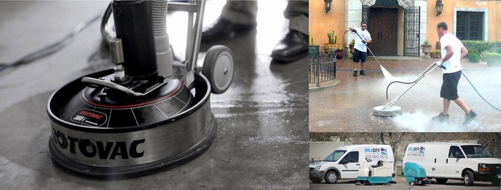 Order Pressure Washing & Concrete Polishing Services