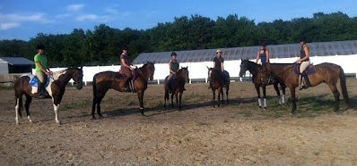Horseback Riding Group Lessons