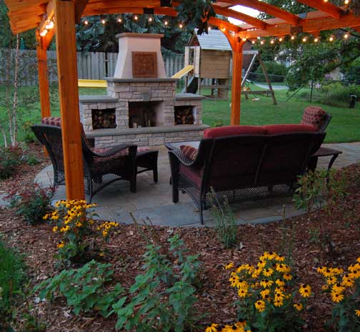 Order Outdoor Kitchens & Fireplaces