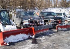 Order Commercial Snow Plowing Service