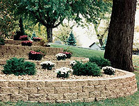 Order Walkways, Patios, Edging, Planters & Retaining Walls