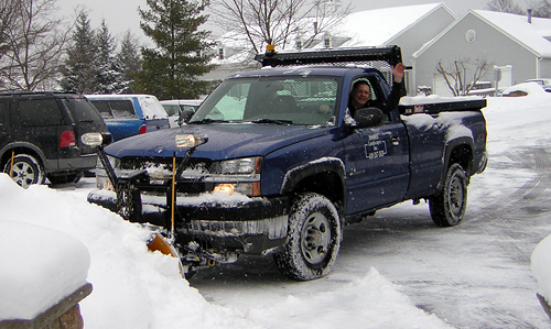 Order Snow Removal & Salting
