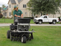 Order Lawn Aeration and Over Seeding