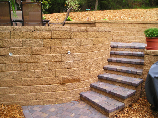 Order Retaining Walls & Steps