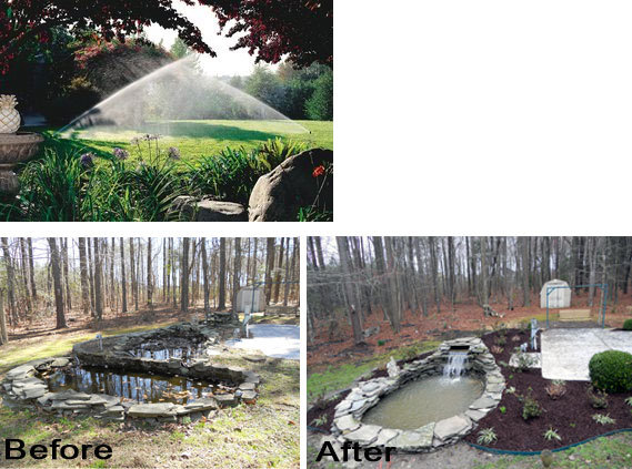 Order Irrigation Systems / Ponds