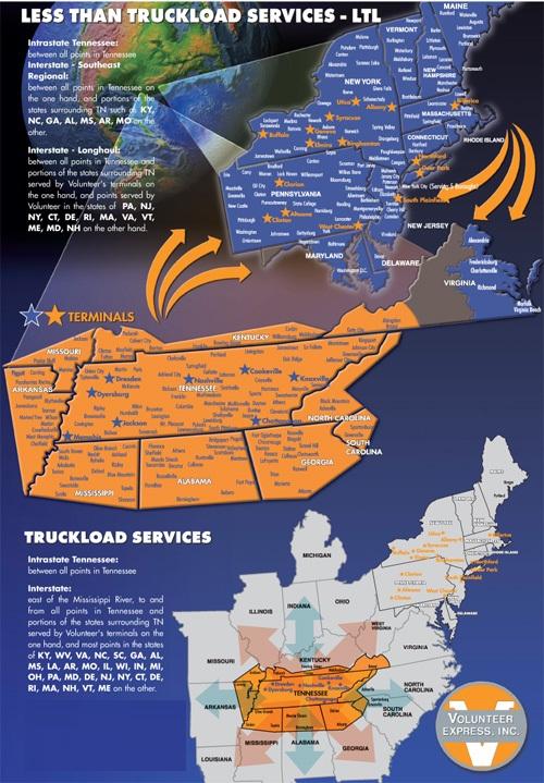 Order Less than Truckload (LTL) & Truckload (TL)