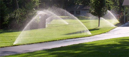 Lawn Sprinkler Systems Service