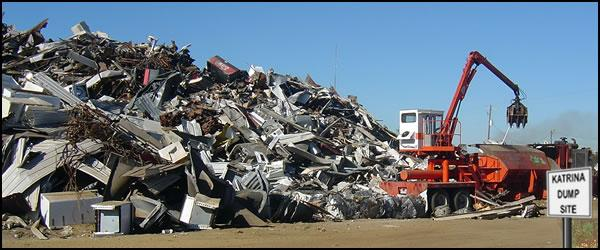 Order Scrap removal services