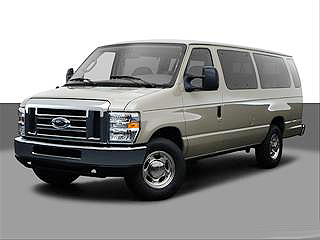 Order Ford and GMC's 12 and 15 Passenger Vans
