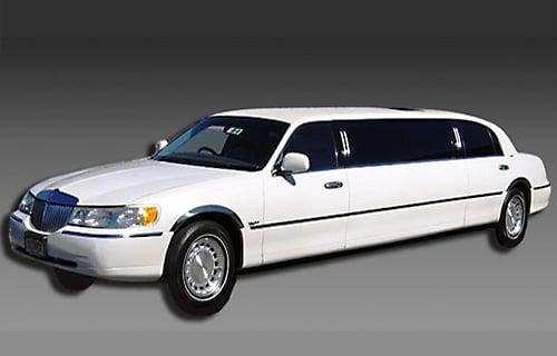 Order Lincoln Towncar Stretch Limousines Rental