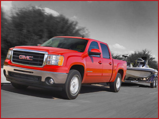 Order GMC's Crew Cab Towing Package Rental Services