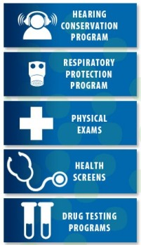Order Audiometric, Respiratory and Physical Exams in Jacksonville