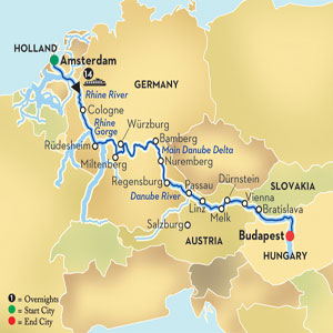 Order Magnificent Europe from Amsterdam to Budapest (WAB) - Affinity Cruise
