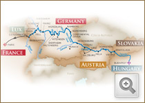 Order Ultimate River Cruise : 2013 - Budapest to Luxembourg : ms AmaDolce (Cruise Only)