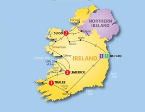 Order CostSaver 2013: Irish Wonder 2013 Tour