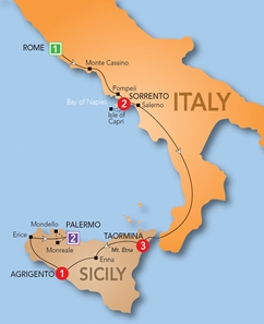 Order Europe & Britain 2013: Southern Italy and Sicily 2013 Tour