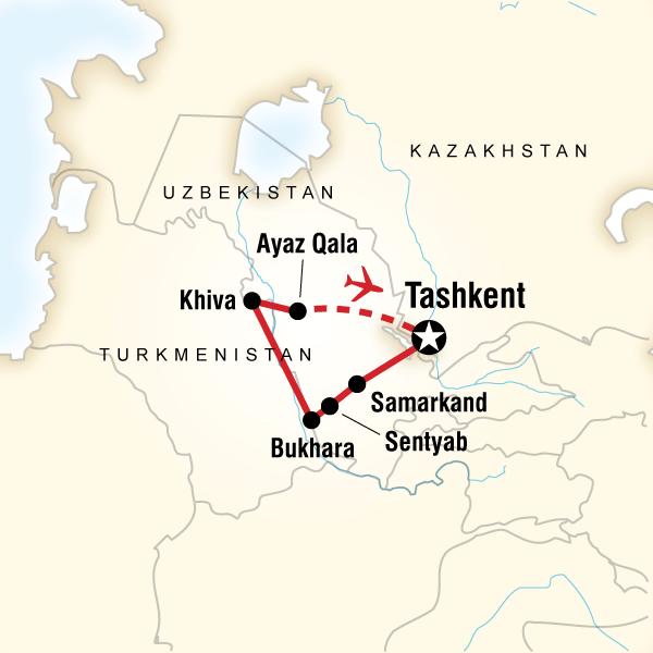 Order 2013 Classic: Uzbekistan Discovered (AUUK) Tour