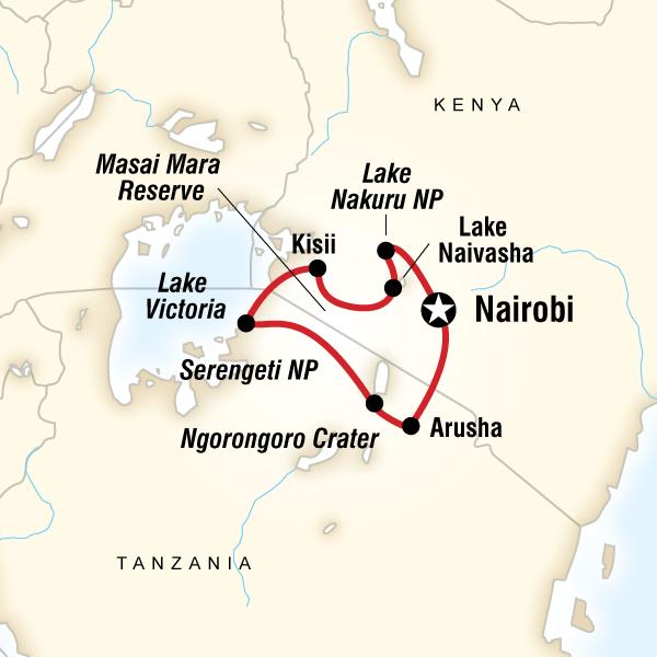 Order 2013 YOLO: Kenya & Tanzania Overland (DKTO) Tour