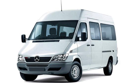 Order Mercedes- Benz Sprinte Rental