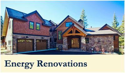 Order Custom Homes Energy Renovations