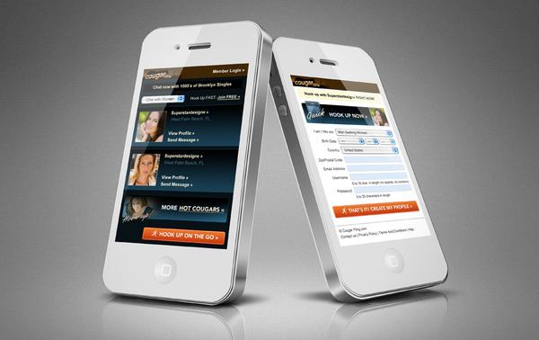 Order Mobile Landing Page Design